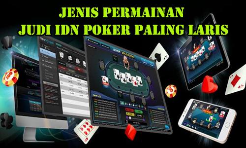 jenis judi IDN poker